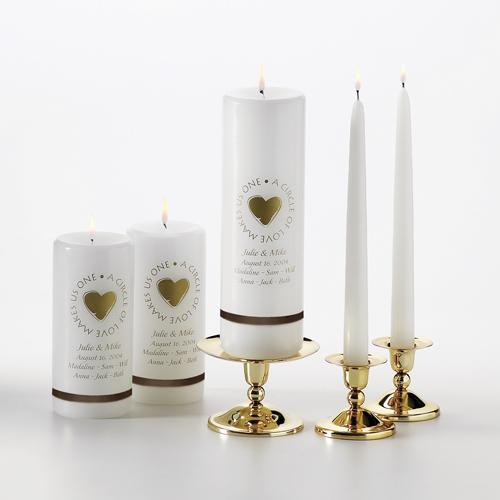 Wedding Altar Candles: Celtic Attic: Wedding Candles, Claddagh Unity, Altar