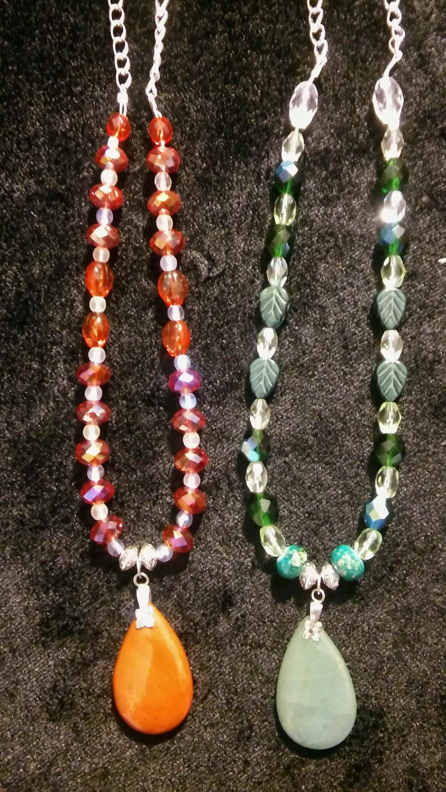 Celtic Beaded Pendants