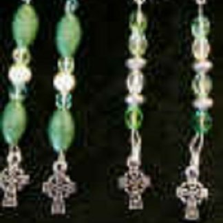 celtic cross beaded