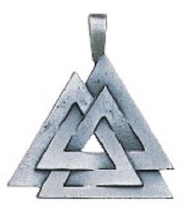 pict's knot pendant