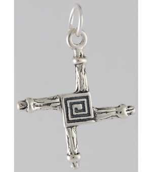 brigits cross pendant