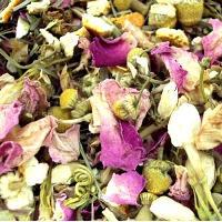 faerie garden bath tea