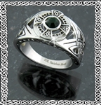 Stainless Celtic Cross Ring