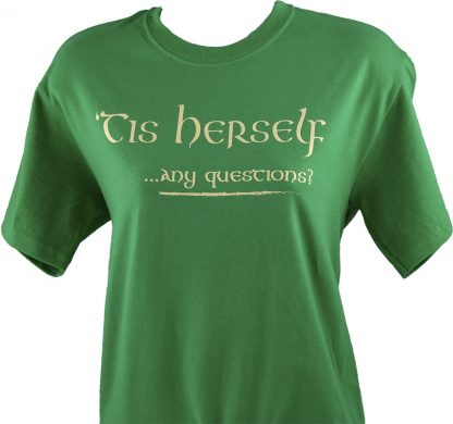 Tis Herself tee shirt