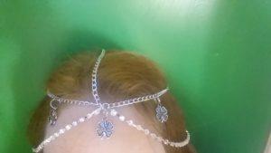 Shamrock Chain Headpiece