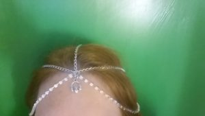 Claddagh Chain Headpiece
