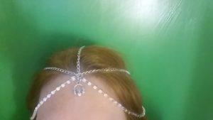 Claddagh Chain Headpiece