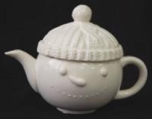 Aran Snowman Teapot