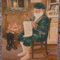 Santa Throw