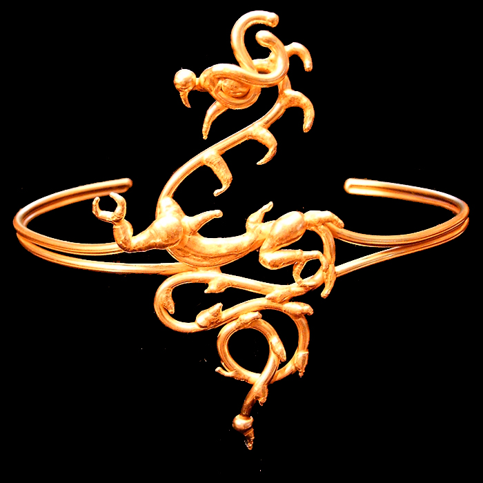 bronze dragon armband