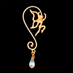 Bronze Fairy Ear Wire