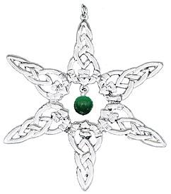 Celtic Cat's Eye Ornament