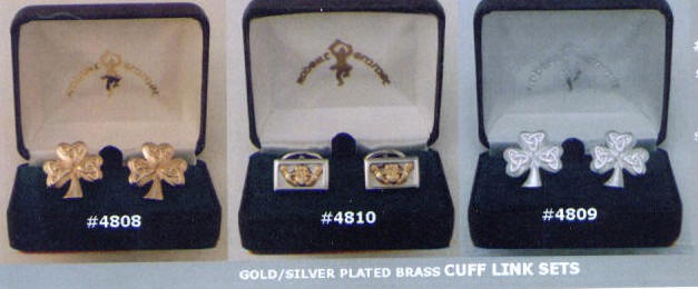 Claddagh Cuff Links