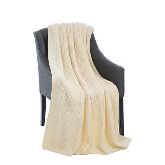 Dara Merino Wool Throw
