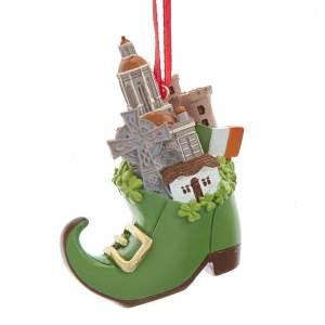 leprechaun shoe ornament
